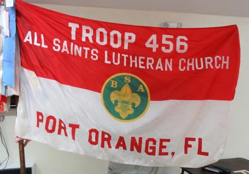 Troop 456 out of All Saints Lutheran Church in Port Orange, FL.