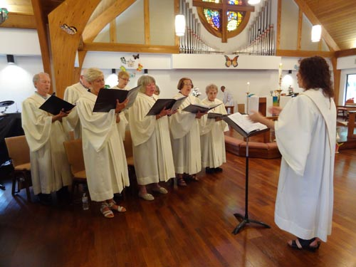 All Saints Lutheran Church Choir in Volusia County.