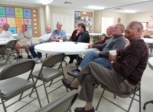 Mens breakfast meeting at the All Saints Lutheran Church in Port Orange, FL.