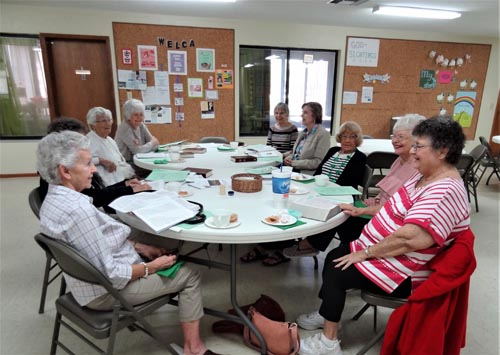 Women of the WELCA meet at All Saints Lutheran Church in Volusia County.